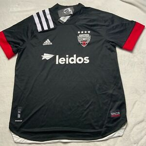 NWT ADIDAS D.C. United MLS 2020 Authentic Home Jersey Men GV2656 MSRP $120