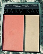 Full Sz Mary Kay Juicy Guava Mineral Cheek Color New Bonus Eye Lip Cheek Samples