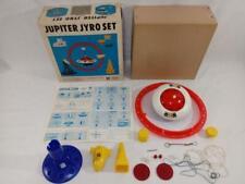 1968 TOMY Jupiter Jyro FLYING SAUCER Deluxe Set ~ORIGINAL BOX~ B/O WORKS GREAT