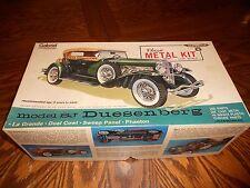 Hubley 1932 SJ Duesenberg Metal Kit 1/18 100 % Comp w/head light lens,Windsheild