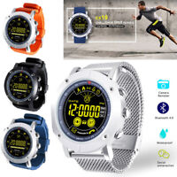 Bluetooth SmartWatch Waterproof Wristband Watch Activity Tracker For Android iOS