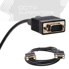 25ft 15 PIN SVGA VGA ADAPTER Monitor Male To Male M/M Cable Cord for PC TV