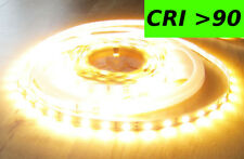12200 Lumen CRI>90 5m X-Highpower LED Streifen mit 600 2835 LED's warmweiß 24V