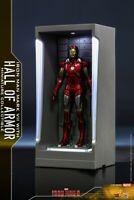 """Hot Toys Mini Iron Man MMSC0011 MK7+Gnaku Armored """"Iron Man 3"""" Display Box Toys"""