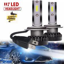 NEW 110W H7 LED Mini Headlight Bulbs COB Chip Car Driving Lamps DRL 6000K White