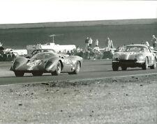 Vintage 8X10 Daytona 1970 Ferrari 312P & Ferrari 275GTB/C Auto Racing Photo