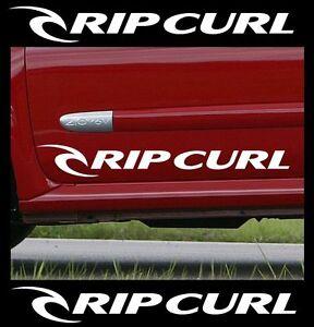 2 x RIPCURL Car Graphic Sticker Decals Vinyl Bodywork Campervan Surfboard [C7]