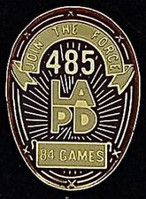 LAPD ~ Join the Force ~ 485 ~ 1984 Olympic Pin Badge
