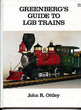 GREENBERG'S GUIDE TO LGB TRAINS, NEW HARDBOUND MODEL TRAIN BOOK On Sale $49.99