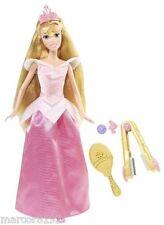 Disney Sparkling Princess Doll Crimp & Style Sleeping Beauty Aurora New Mattel