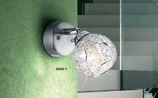 Applique Dessin Moderne Lampe murale Lampe de corridor Spot mural chromé 40617