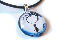 CORALINE Glass Bubble Pendant Necklace