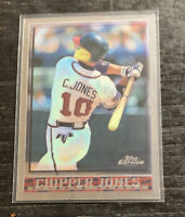Chipper Jones 1998 Topps Chrome #305 Atlanta Braves