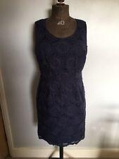Boden Dress, Dark Navy Blue, Size 10R, Mini Dress, Smart Shift, 80% Cotton
