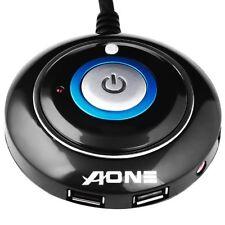 Desktop PC Startknopf Mit 2 USB Anschlüsse Power Reset Button Netzteil Schalter