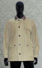 Men's Leather collar Fleece Coats & Jackets