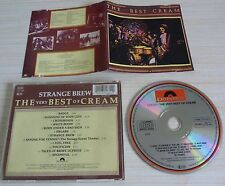 CD ALBUM THE VERY BEST OF CREAM STRANGE BREW 12 TITRES 1983 ERIC CLAPTON