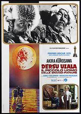 CINEMA-soggettone DERSU UZALA PICCOLO UOMO DELLA GRANDI PIANURE solomin,KUROSAWA