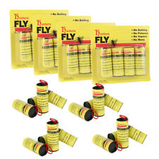 Lots Insect Bug Fly Glue Paper Catcher Trap Ribbon Tape Strip Sticky Flies Rolls