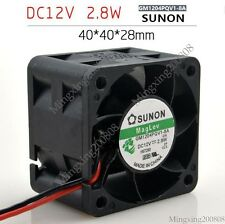 SUNON GM1204PQV1-8A Fan 40*40*28 DC 12V 2.8W 2pin
