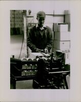 LD207 Original Photo TUNA CANNING FACTORY Los Angeles CA Food Industry Worker