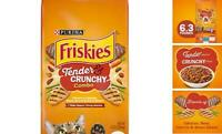 Purina Friskies Tender & Crunchy Combo Adult Dry Cat Cats Food Bag 6.3 lb New