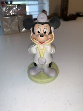"""Ceramic Porcelain Mickey Mouse Doctor 4"""" Figure Statue by Disney VERY RARE!"""