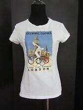 2012 London Olympics Olympic Museum Cap Sleeve T Shirt Girls Size 12