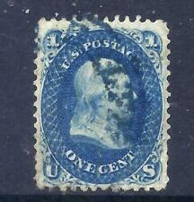 US Stamps - #63 - USED - 1 cent Franklin Issue - CV $45