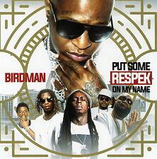 BirdMan Put Some Respek On My Name Official (Mix CD) Rap R&B Hip Hop Mixtape