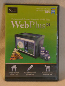 Serif WebPlus X4 - Professional-Quality Websites Made Easy