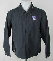 New York Rangers NHL Men's Dunbrooke Full Zip Navy Blue Canvas Jacket