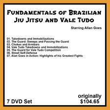 Fundamentals of Brazilian Jiu Jitsu & Vale Tudo with Allan Goes (7 DVD Set)
