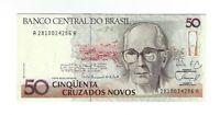 50 Cruzados Novos Brasilien 1989 C204 / P.219a