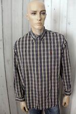 MARLBORO CLASSICS Camicia Uomo Shirt Cotone Casual Manica Lunga Chemise Taglia M