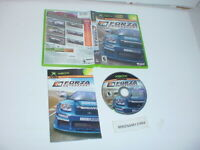 Original FORZA MOTORSPORTS racing game complete w/ manual for Microsoft XBOX