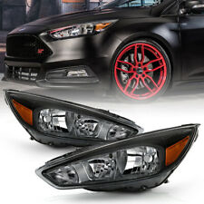 For 15-18 Ford Focus [Model w/o DRL] Factory Style Repalcement Headlight Lamp