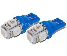 2 ampoules à LED BLEU plafonnier Peugeot  106 107 206 207 306 307 308 406 407