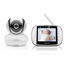 MOTOROLA MBP36S DELUXE VIDEO AND SOUND BABY MONITOR+AUSTRALIAN WARRANTY