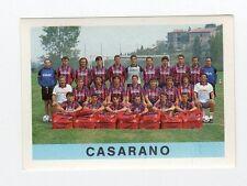 figurina CALCIATORI EUROFLASH 1990-91 NUMERO 467 CASARANO SQUADRA