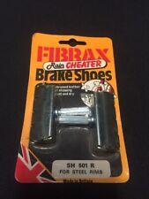 Nos Vintage Fibrax Rain Cheater Cantilever Brake Shoes Steel Rims Fit: Shimano