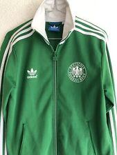 Adidas Originals S Jacke Sport EM 2012 Top Zustand Grün Fußball Vintage Retro