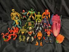 20+ HE MAN HUGE Vintage Lot + Accessories Masters of the Universe Greyskull