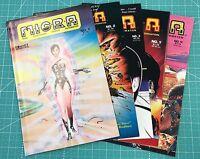 COMICS INTERVIEW MICRA (1986) LOT, RUN #1 2 3 5 6 KEY COPPER AGE SHIPS FREE!