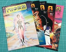 COMICS INTERVIEW MICRA (1986) LOT, RUN #1 2 3 5 6 KEY COPPER AGE SHIPS FREE!
