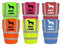 RUG IN BLUE KNIGHT RIDER  5 FEET 6 INCHES HORSE FLEECE BLANKET