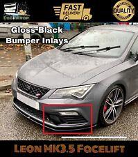 Eaziwrap Seat Leon MK3.5 Cupra FR Bumper Inlay Vinyl Sticker -GLOSS BLACK