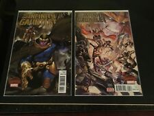 Infinity Gauntlet 3 Bianchi Variant & 4 Regular Secret Wars War CGC CBCS It!