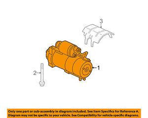 GM OEM-Starter Motor 12670255