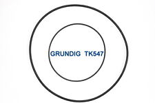 SET BELTS GRUNDIG TK547 REEL TO REEL EXTRA STRONG NEW FACTORY FRESH TK 547